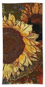 Sunflowers 397-08-13 Marucii Beach Towel