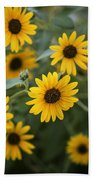 Sunflowers Bloom Beach Towel