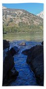 Sunlight On Lake Jenny Beach Towel