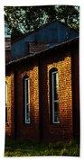Sunlight On Old Brick Building - Ellensburg - Washington Beach Sheet
