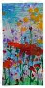 Sunny Day Beach Towel by Jacqueline Athmann