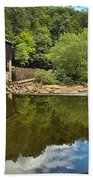 Sunny Days At Mcconnells Mill Beach Towel