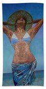 Sunny Delight Beach Towel