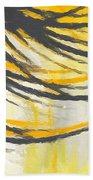 Sunny Field Beach Towel