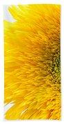 Sunny Flower Beach Towel