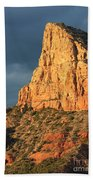 Sunny Side Of Sedona Beach Towel