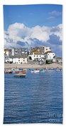 Sunny St Ives Beach Towel