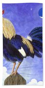Sunny The Rooster Beach Towel