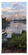 Sunrise At Oxbow Bend 3 Beach Towel by Marty Koch