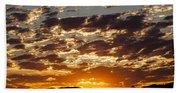 Sunrise At Spirit Lake Sanctuary 20140710 0604 Beach Sheet