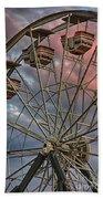 Sunrise Ferris Wheel Beach Towel