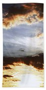 Sunrise Heaven Beach Towel