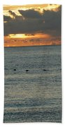 Sunrise In Florida Riviera Beach Towel