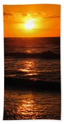 Sunrise In Texas 5 Beach Towel