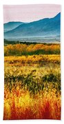 Sunrise In Verde Valley Arizona Beach Towel