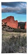 Sunrise Of The Gods Beach Towel