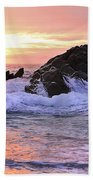 Sunrise On The Horizon Beach Towel
