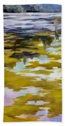 Sunrise On The Water Beach Towel