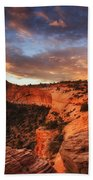 Sunrise Over Canyonlands Beach Towel by Darren  White