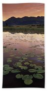 Sunrise Over Granadier Range Molas Pass Beach Towel