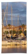Sunrise Over La Ciotat France Beach Towel