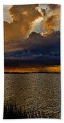 Sunrise Rain Beach Towel