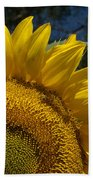 Sunrise Sunflower Beach Towel