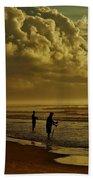 Sunrise Surf Fishing Beach Towel