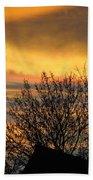 Sunset 4 Beach Towel
