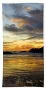 Sunset And Seal Rock Beach Towel