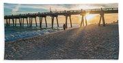 Sunset Art Beach Towel