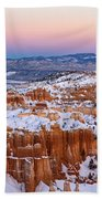 Sunset At Bryce Canyon National Park Utah Beach Towel