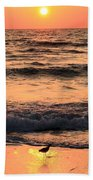 Sunset At St. Joseph Beach Towel