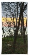 Sunset At The Island Beach Towel