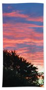 Sunset Bicolor Beach Towel