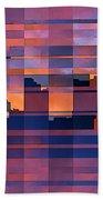 Sunset City Beach Towel