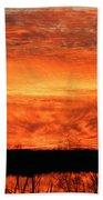 Sunset Detail  Beach Towel