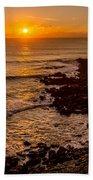 Sunset Far Away Beach Towel