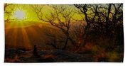 Sunset From Blood Mountain Beach Towel