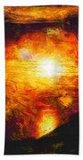 Sunset Glory Beach Towel