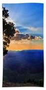Sunset Grand Canyon Beach Towel