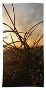 Sunset Grass 2 Beach Towel