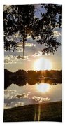 Sunset In Florida Beach Towel