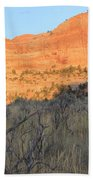 Sunset In The Desert Canyon 2 Beach Towel