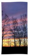 Sunset Of The Century Beach Towel