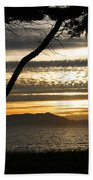 Sunset On The Bay Beach Towel