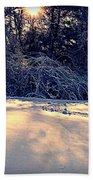 Sunset On The Briar Patch Beach Towel