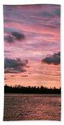Sunset Over Lake Bailey Beach Towel