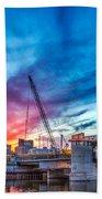 Sunset Over St. Paul Beach Towel