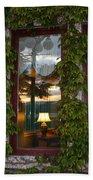 Sunset Reflection On Empress Window Beach Towel